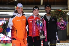 Podium World Cup 1500m Men 090312